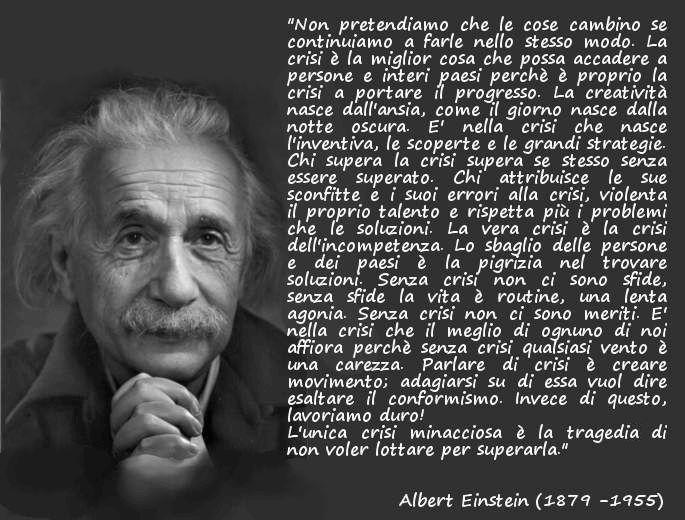 Albert Einstein Frasi Citazioni Aforismi