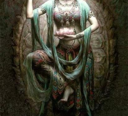 Guan Yin la dea della compassione
