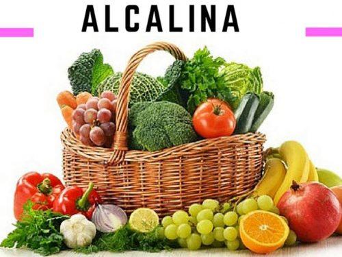 alcalinità e invecchiamento rallentato, la dieta